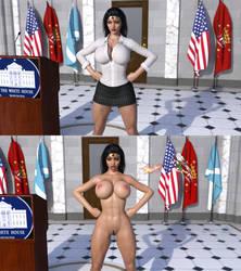 WW's running for president by HeroineAdventures