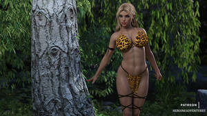 Jungle Girl Forest SFW