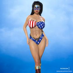 Ms Americana by HeroineAdventures