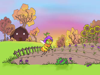 Bee Farming by Child-Of-Gaea