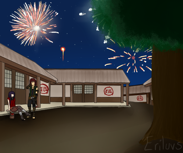 TG - Fireworks of Freedom by Eriluvs