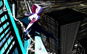 Spider Gwen by GioInfinityArt