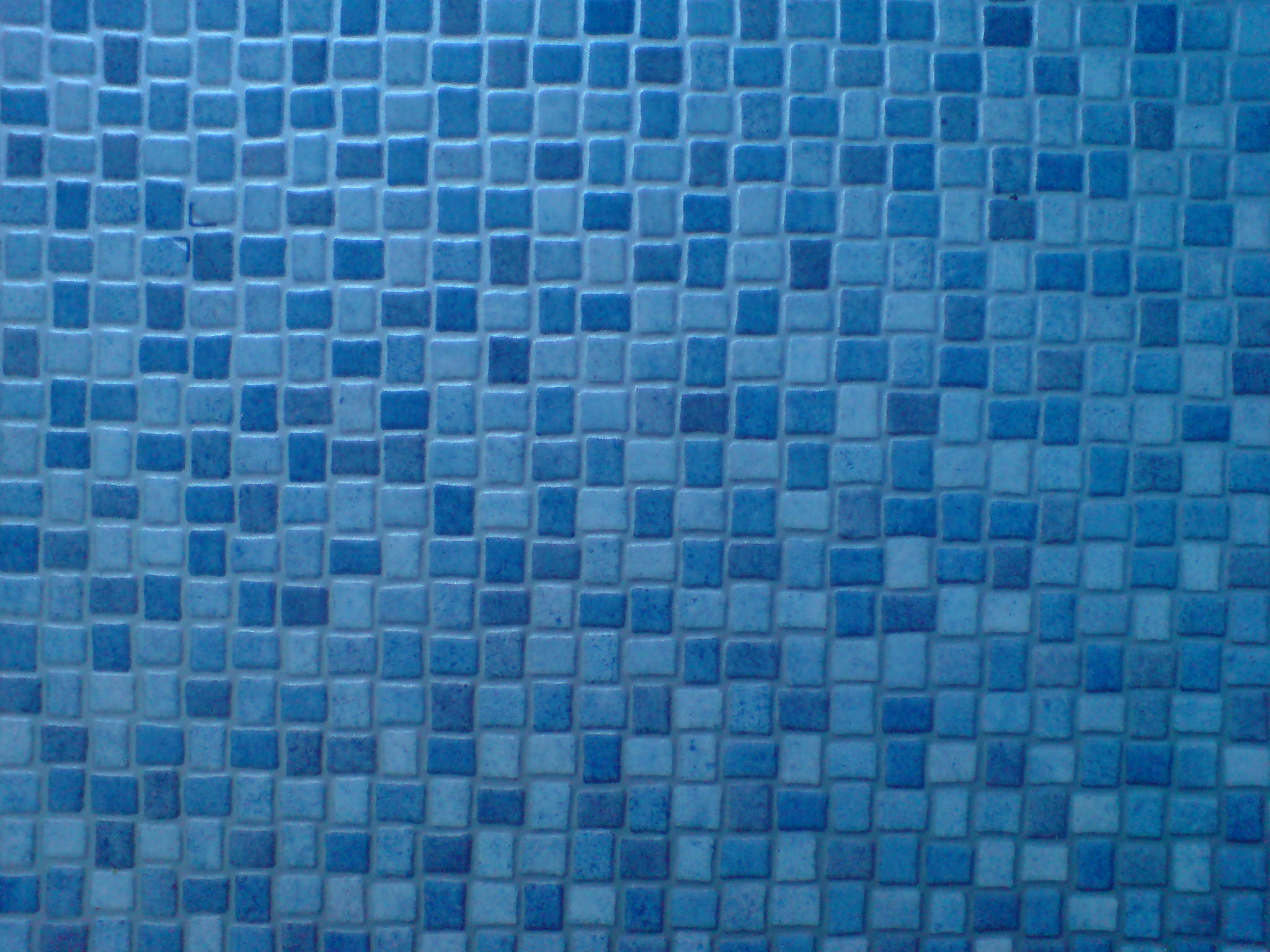 Blue mosaic linoleum by dr druids stock on deviantart for Blue linoleum floor tiles