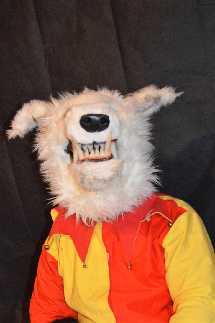 wolf mask i made by aconpaddy