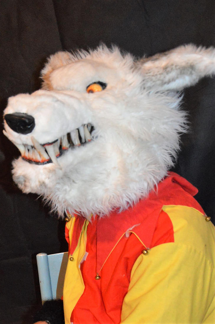 wolf mask i made# by aconpaddy