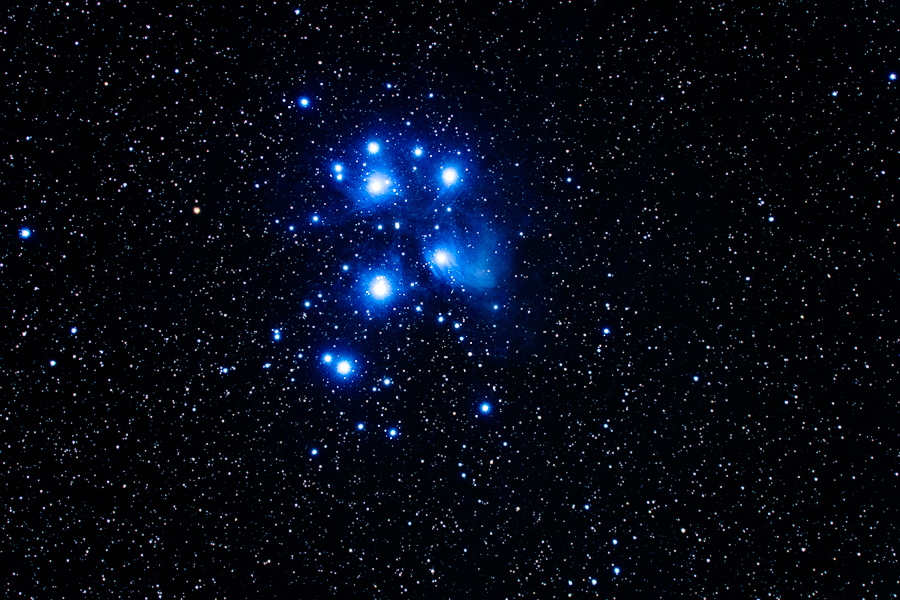 Pleiades by MartinAmm