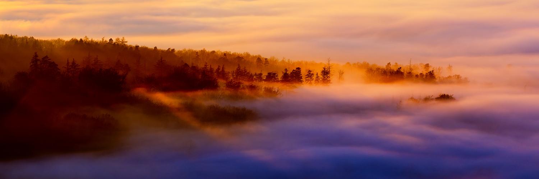 sea of fog by MartinAmm