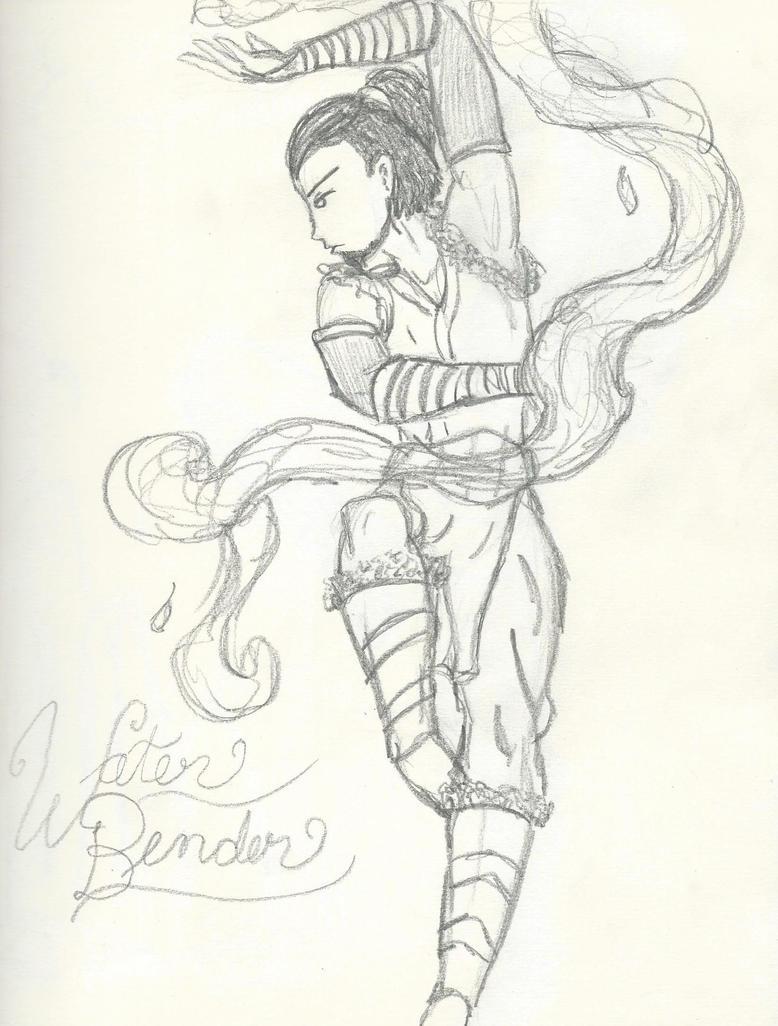 Water Bender Guy by kanjou365
