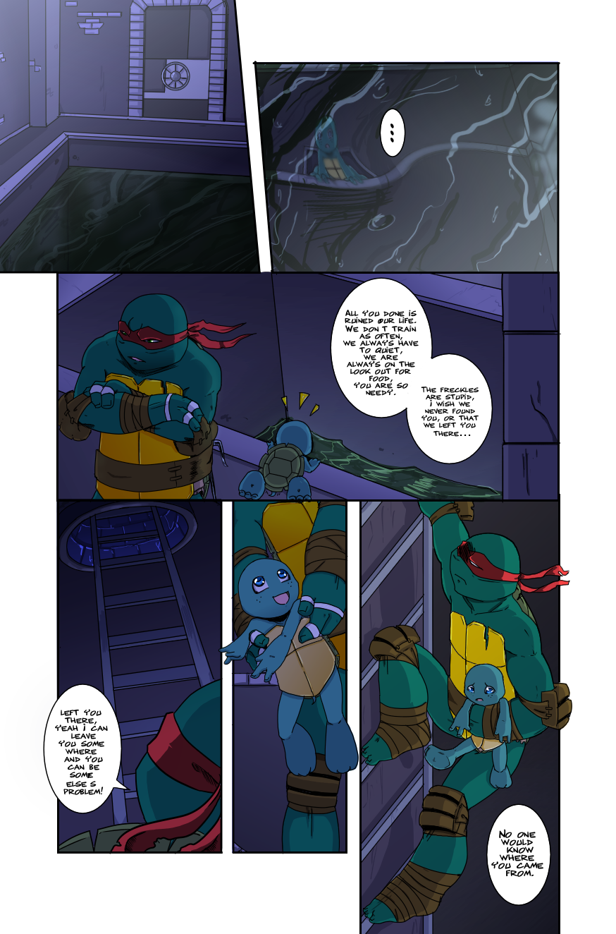 Raph's Choice - Page 11 by KameBoxer on DeviantArt
