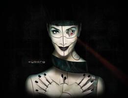 Cyborg Girl by jaxcullengfx