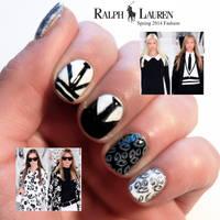 Ralph Lauren Nail Art by jaxcullengfx