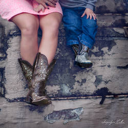Mommy and Me Boots by jaxcullengfx