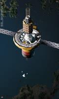 Shikasta Space Station (earth orbit)