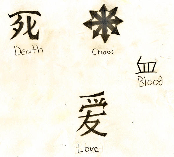 Japanese Symbols By Vampire431 On Deviantart