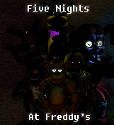 Generic FNaF Poster by ToxyTheFox0
