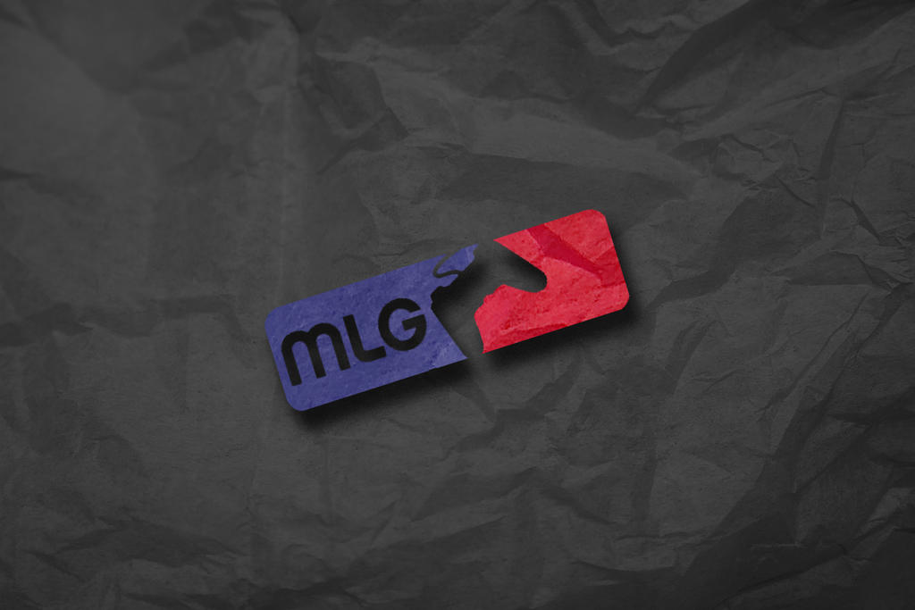 MLG Scrunched Paper Wallpaper By ITheJester