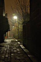 Alleyway by johnwaymont