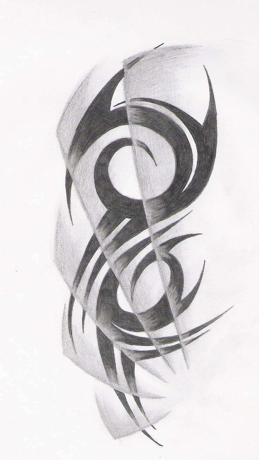 tribal tattoo draw by rockwell88 on deviantart. Black Bedroom Furniture Sets. Home Design Ideas