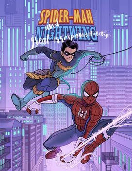 Spiderman And Nightwing Comic Cover