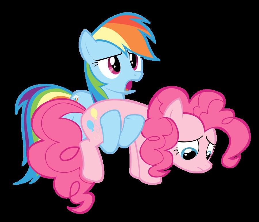 mlp/ pinkie pie and rainbow dash by L33sAh on DeviantArt