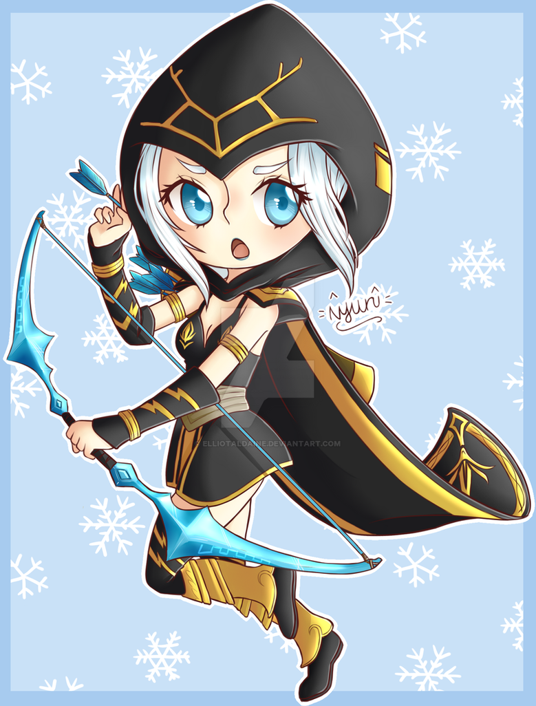League: Traditional Ashe by ElliotAldaine