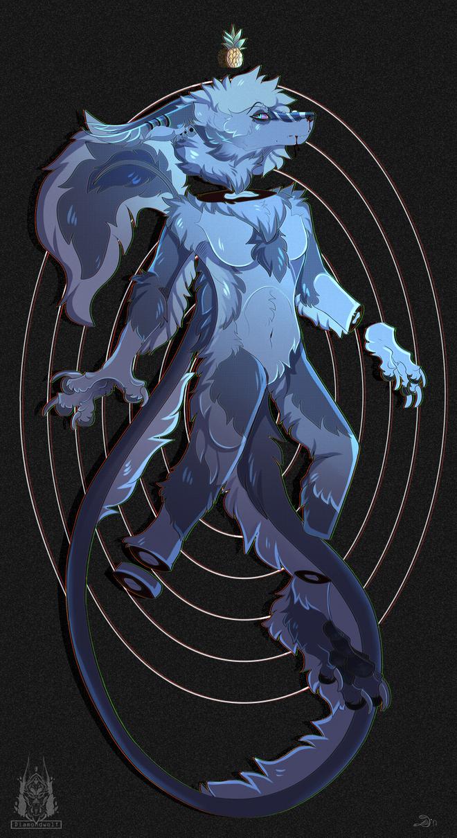 BRAIN DEAD by DiamondwolfART