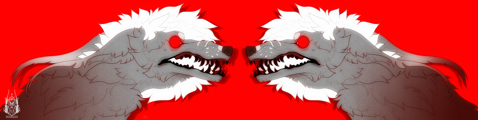 RED by DiamondwolfART