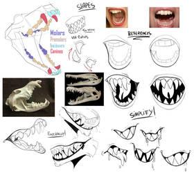 Teeth/Fangs Tutorial
