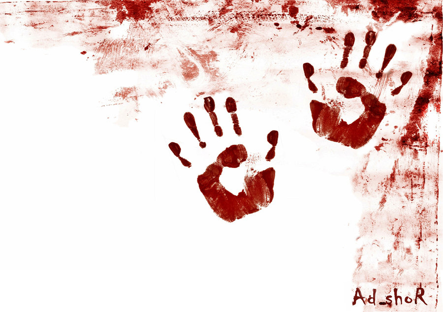 Love Hand Blood Wallpaper : bloody hands by itsmylifeee on DeviantArt