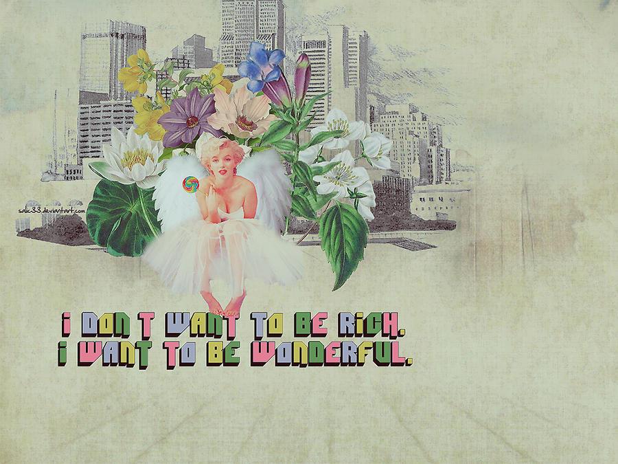 Marilyn Collage by Salic33