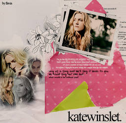 kate Winslet collage by demolitionn