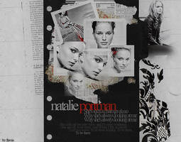 Natalie Portman Collage by demolitionn