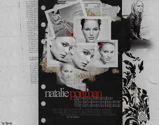 Natalie Portman Collage by demolitionn
