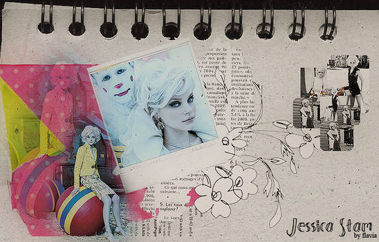 Jessica Stam collage