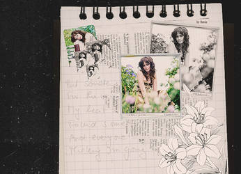 Alexis Bledel collage by demolitionn