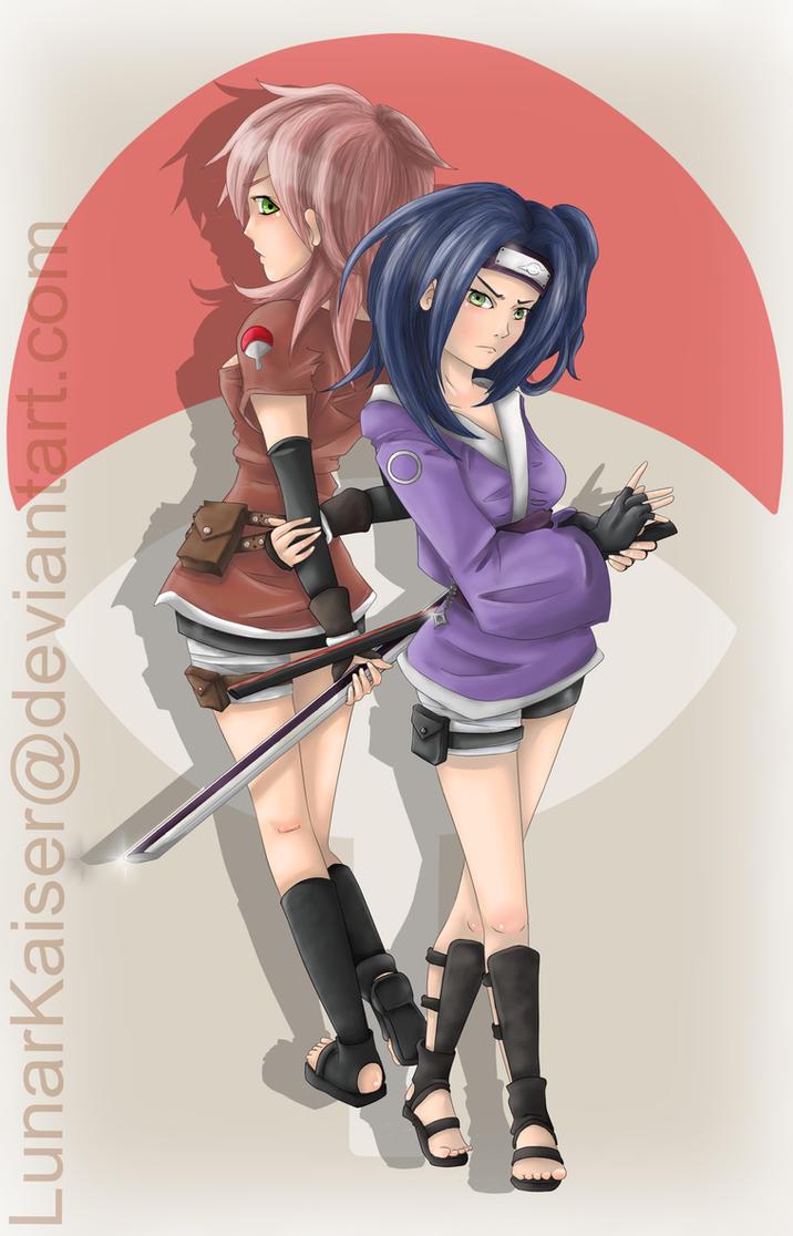 Next Generation Ninjas by LunarKaiser