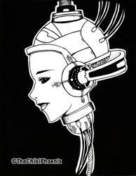 Cyber Beauty by TheChibiPhoenix