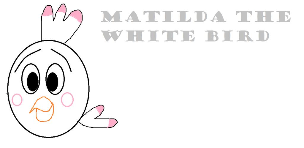 Angry Birds Matilda The White Bird 443087070