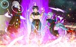Comm-Universe One-Half Goddesses Tendo Sisters by DesingAHV