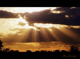the sun west of the Arizona by sonafoitova