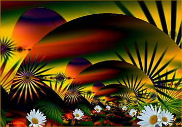 walpaper garden-ultra fractal by sonafoitova