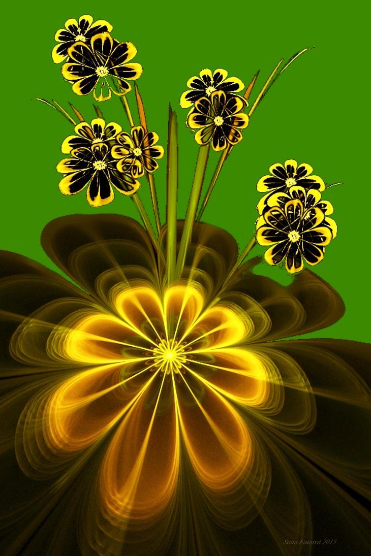 walpaper grunflowers-apo by sonafoitova