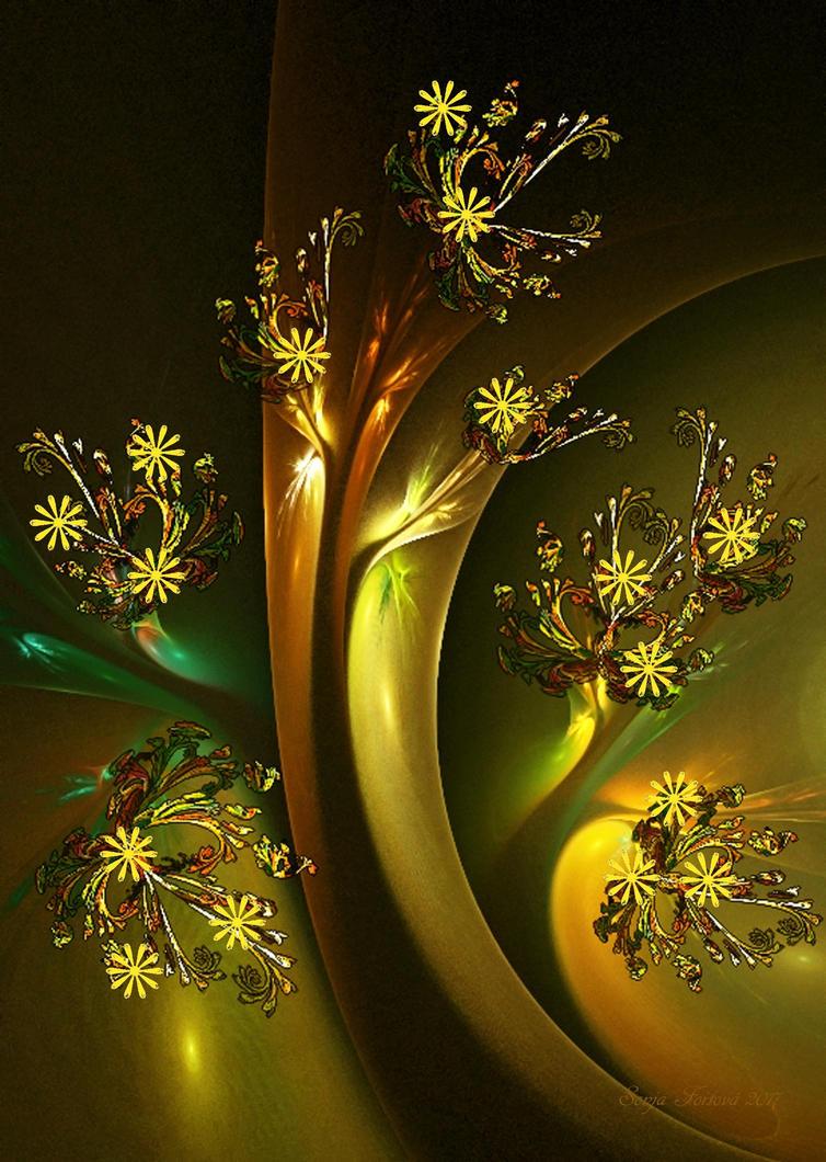 flower tree-apo by sonafoitova