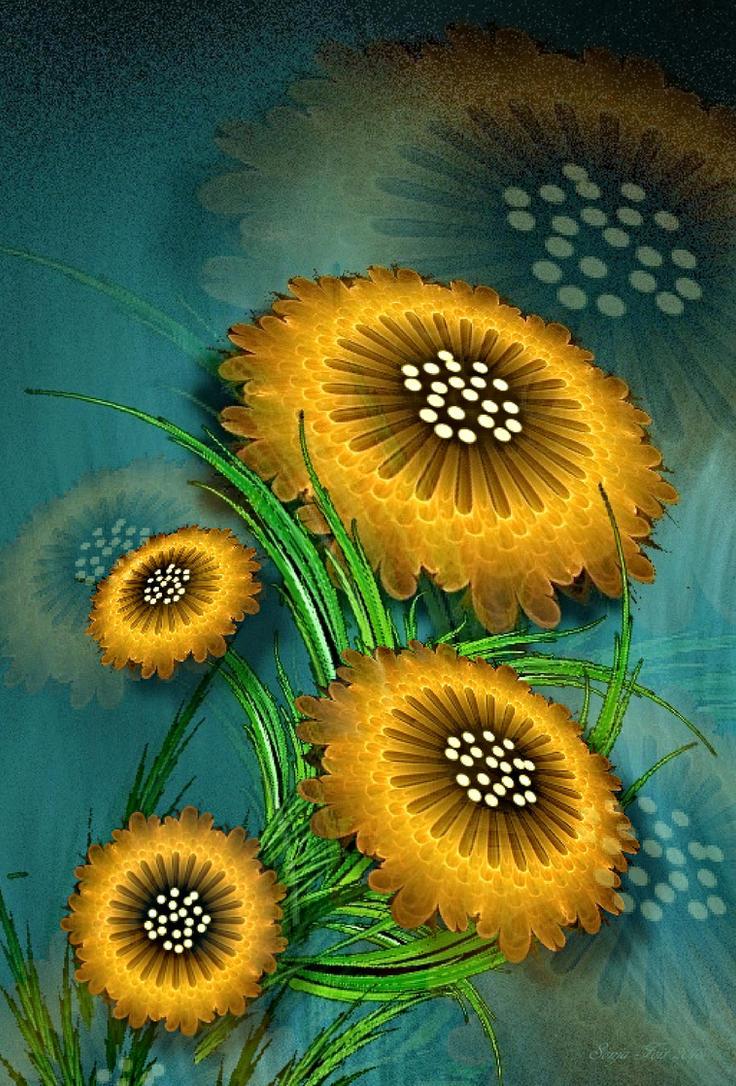 floral wallpaper-apo by sonafoitova