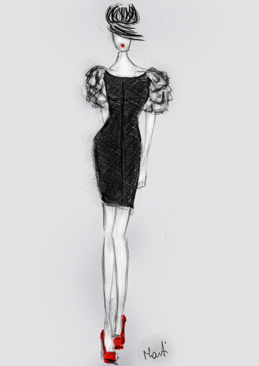 dnmt may little black dress by marty182 on deviantart