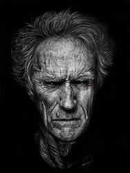 Clint Eastwood  by TheArtCrate