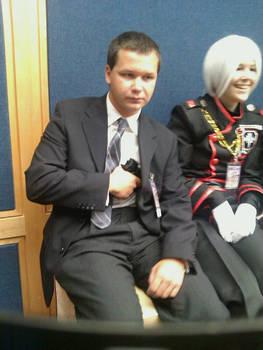 Agent Man and Allen