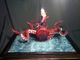 Poseidon diorama back view