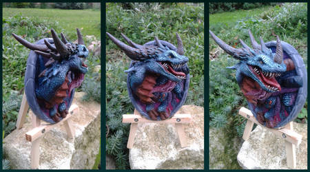 Azure Drake - hearthstone sculpture