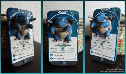 Pokemon GO - Blastoise Sculpture
